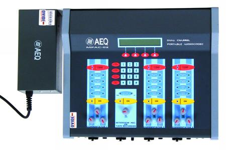 Audiocodificador AEQ MPAC-02
