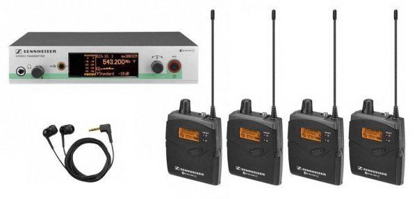 Emisor audio Sennheiser SR-300 IEM G3 C
