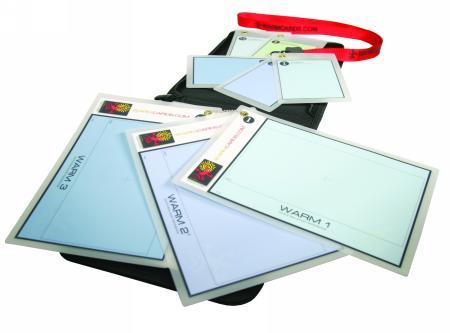 Cartas balance blancos Warm Cards
