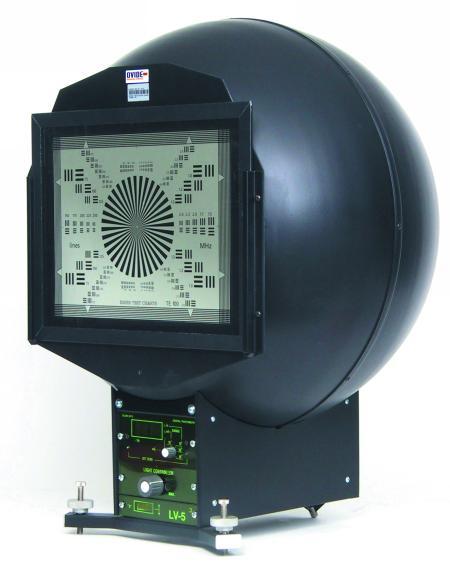 Esfera test cámara Esser LV5