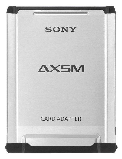 Sony AXSM card adapter