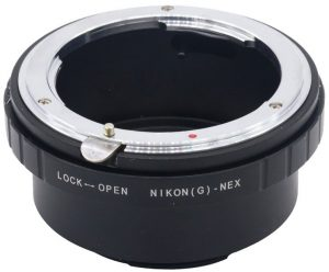 Nikkor to Sony E adapter