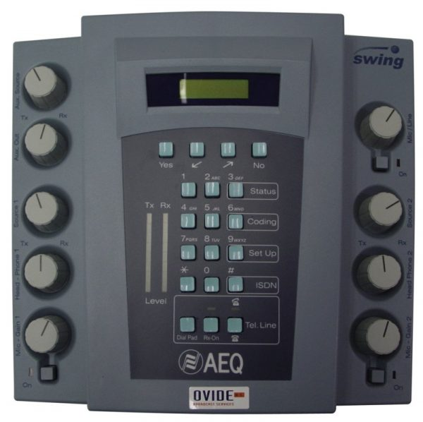 Audiocodificador AEQ Swing