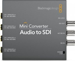 audio mini converter Blackmagic