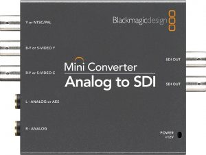 mini converter Blackmagic SDI to Analog
