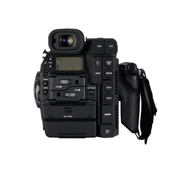 Canon C300 Mark II back