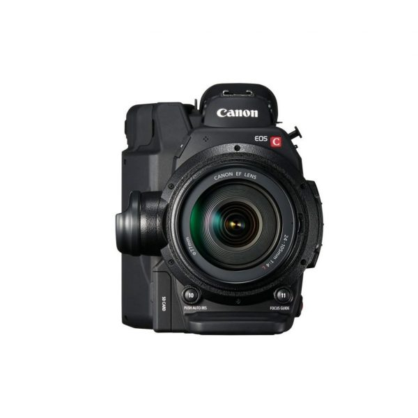 Canon C300 Mark II EF front