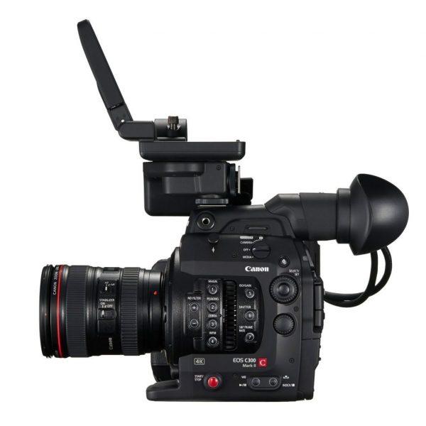 Canon C300 Mark II EF side