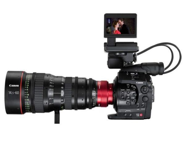 Canon EOS C300 DAF zoom cn-e