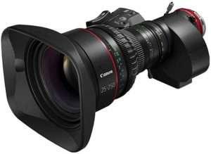 Canon CINE-SERVO 25-250mm T2.95 Cinema Zoom lens
