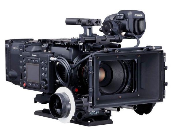 Canon eos C700 mattebox