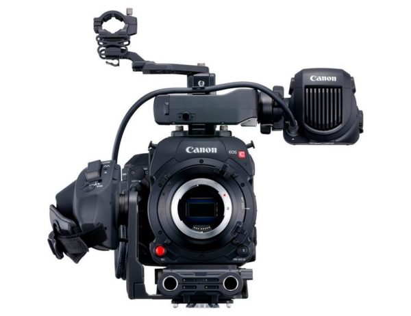 Canon eos C700 front