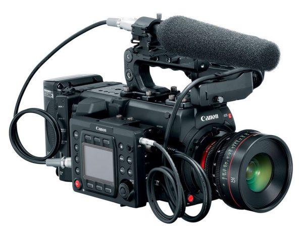 Canon eos C700 micro