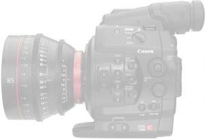Cámara Canon C300 PL