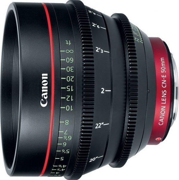Canon CN-E T1.4 50mm lens