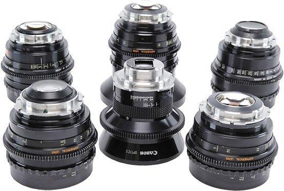 Objetivos Canon K-35