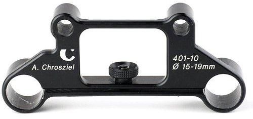 Adaptador doble barras 15-19mm