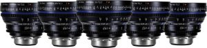 Zeiss Compact Prime CP.2 T2.1 5-lens set