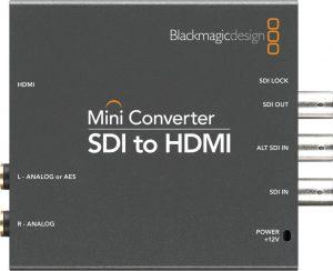 Conversor Blackmagic SDI to HDMI