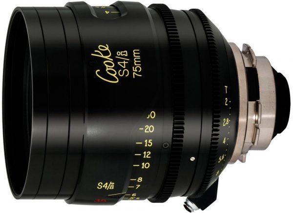Cooke S4/i T2.0 75mm lens