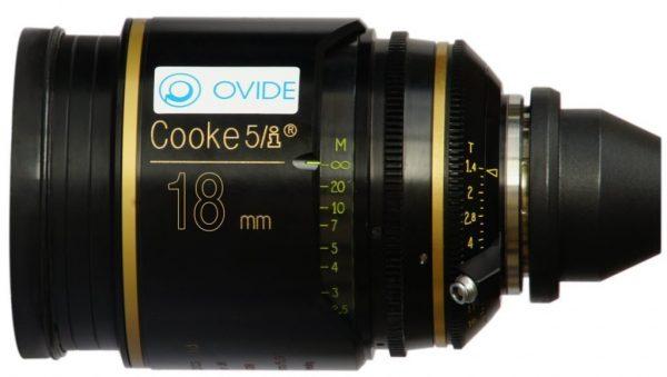 Cooke S5/i T1.4 18mm lens