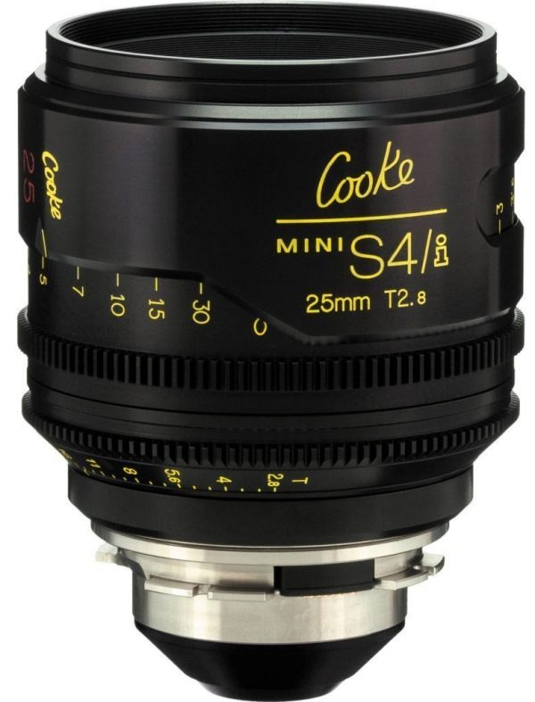 Cooke S4/i T2.0 25mm lens