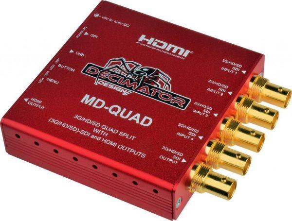Multiviewer Decimator MD Quad