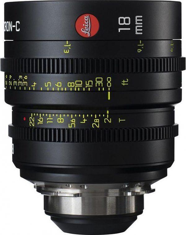 Leica Summicron-C T2.0 18mm lens