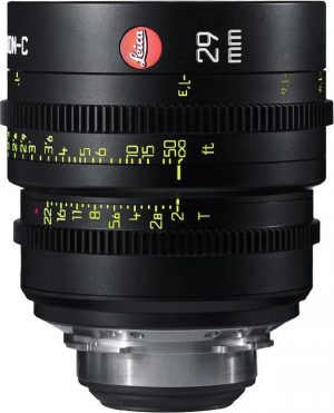 Leica Summicron-C T2.0 29mm lens