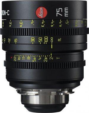 Leica Summicron-C T2.0 75mm lens
