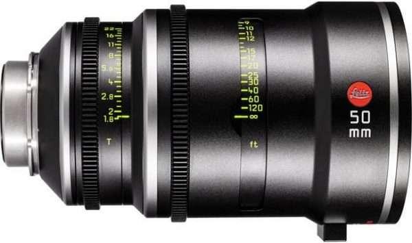 Objetivo Leitz Prime T1.8 50mm