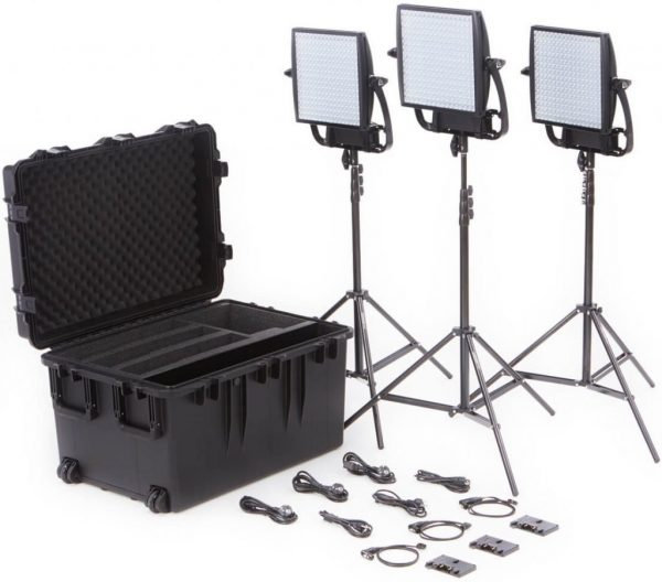 Litepanels Astra 1x1 Traveler Trio
