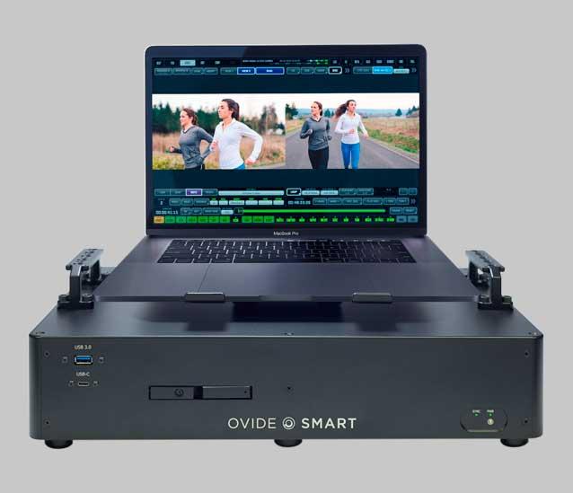 Ovide Smart Dock con Apple MacBook
