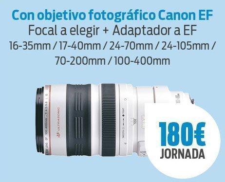 Pack SonyA7 III + Canon EF