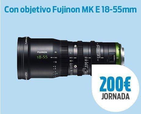 Pack SonyA7 III + Fujinon MK E 18-55mm