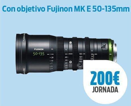Pack SonyA7 III + Fujinon MK E 50-135mm
