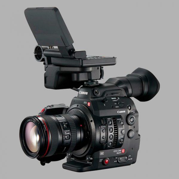 Pack Canon C300 Mark II