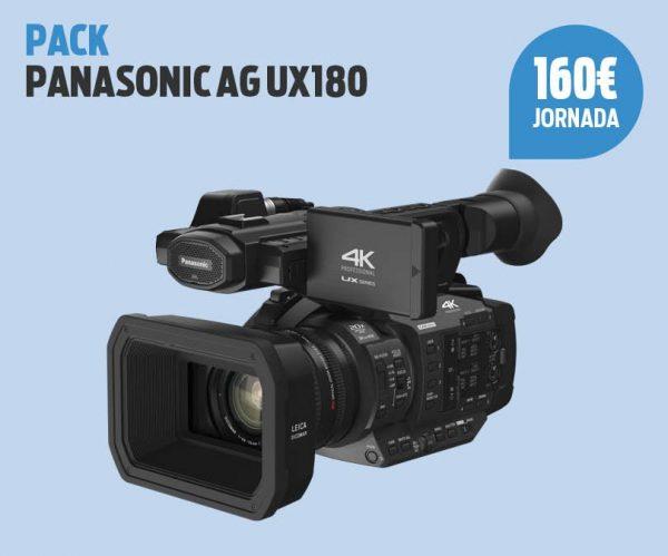 Pack Panasonic AG UX180