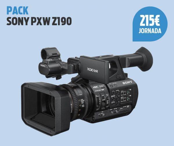 Pack Sony PXW Z190