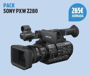 Pack Sony PXW Z280