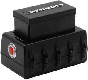Red DSMC Travel Charger