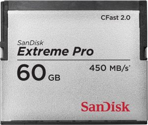 CFast 2.0 Sandisk 60GB Extreme Pro memory card