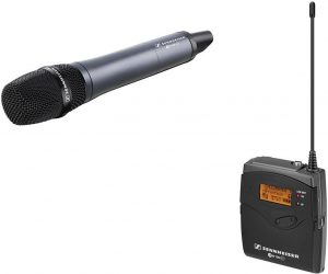 Sennheiser EW 135-P G3 wireless microphone complete set