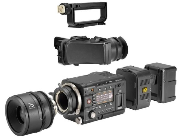 Sony PMW-F55 accessories