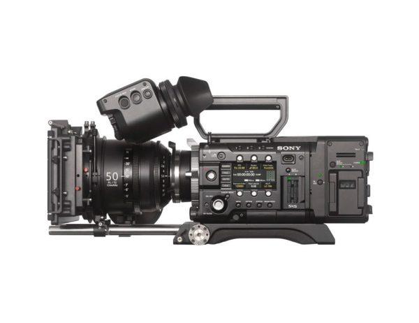 Sony PMW-F55 side