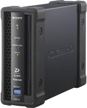 Lector/grabador Sony XDCAM HD PDW-U2 USB3.0