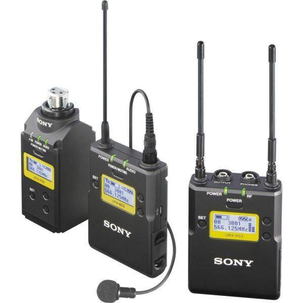 Sony UWP D16 wireless microphone complete set