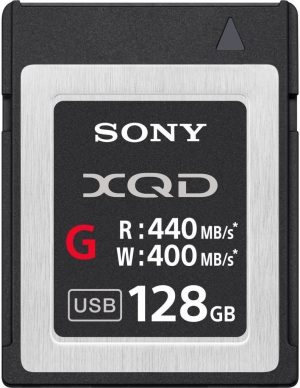 Tarjeta Sony XQD 128GB