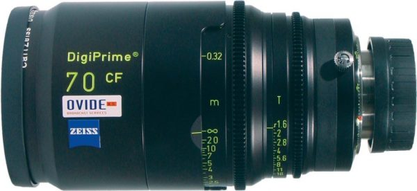 Zeiss Digiprime 70mm CF HDTV lens