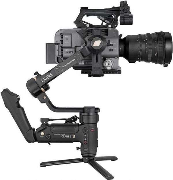 ZHIYUN CRANE 3S PRO with Sony FX9